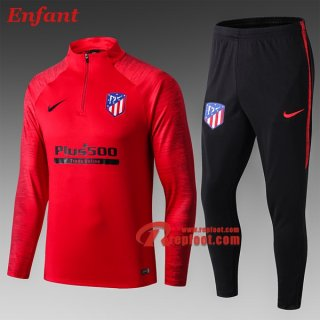 Ensemble Survetement De Atletico Madrid Enfant Rouge 2019/2020 Nouveau