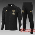 Arsenal Veste foot Noir 20 21 A394