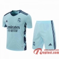 Real Madrid Maillots foot Gardiens de but Light blue 20 21