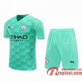 Manchester City Maillots foot Gardiens de but blue-green 20 21