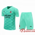 AC Milan Maillots foot Gardiens de but blue-green 20 21