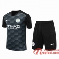 Manchester City Maillots foot Gardiens de but black 20 21