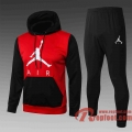 Air man Sweatshirt Foot Air man rouge/noir 20 21 S38