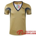 Retro Maillot de Foot Italie Gardien de But Jaune Coupe du Monde 2006