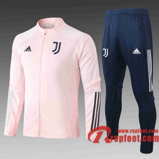 Juventus Veste de foot 2020-21 Rose A346#