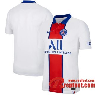 Paris Saint Germain Maillot de Exterieur 2020-21
